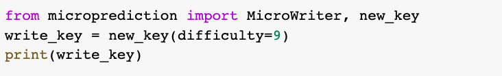 from microprediction to